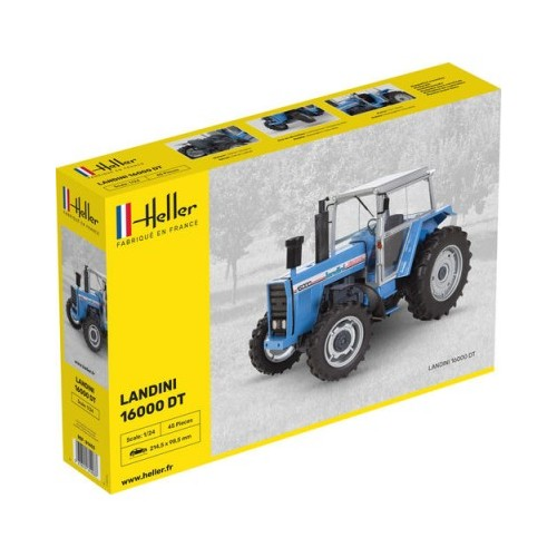 TRACTOR LANDINI 16000 DT -Escala 1/24- Heller 81403