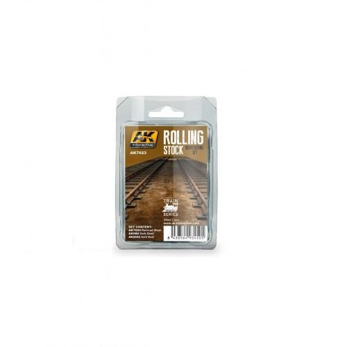 SET WEATHERING ROLLING STOCK - AK 7023