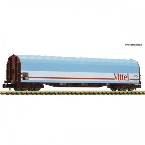 """VAGON LONA DESLIZANTE SNCF """"VITTEL"""" Epoca IV-V -Escala N / 1/160- Fleischmann 837711"""