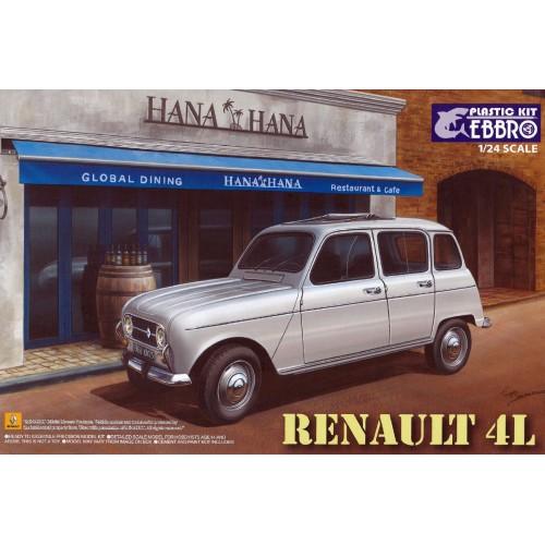 RENAULT 4L -Escala 1/24- Ebbro 25002