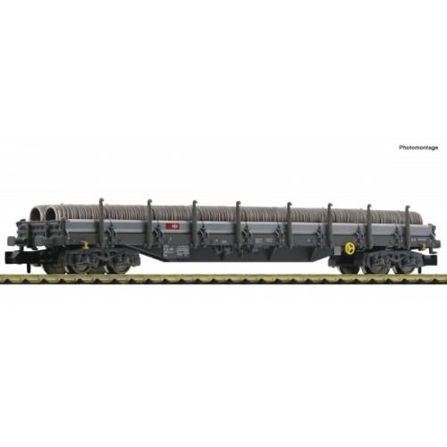 VAGON PLATAFORMA TELEROS SBB & TUBOS Epoca VI -Escala N / 1/160- Fleischmann 828824