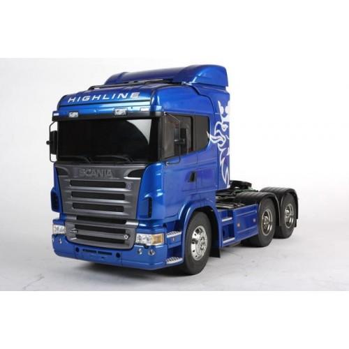 RC Scania R620 6x4 High.blue paint TAMIYA 56327
