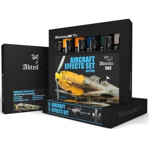 SET OLEOS AIRCRAFT EFFECTS SET - Abteilung 502 ABT305