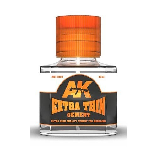 PEGAMENTO PARA MAQUETA EXTRA THIN (40 ml) - AK Interactive AK12002