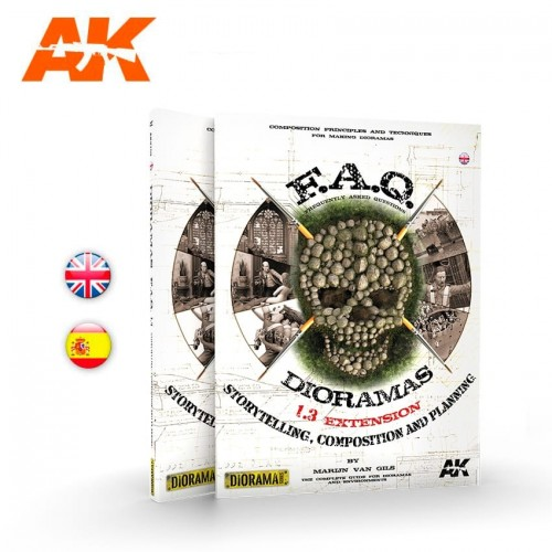 DIORAMAS F.A.Q. 1.3 (Castellano) - AK Interactive AK 8151