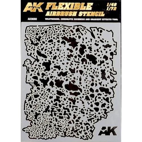 FLEXIBLE AIRBRUSH STENCIL (1/48, 1/72) - AK Interactive AK9080
