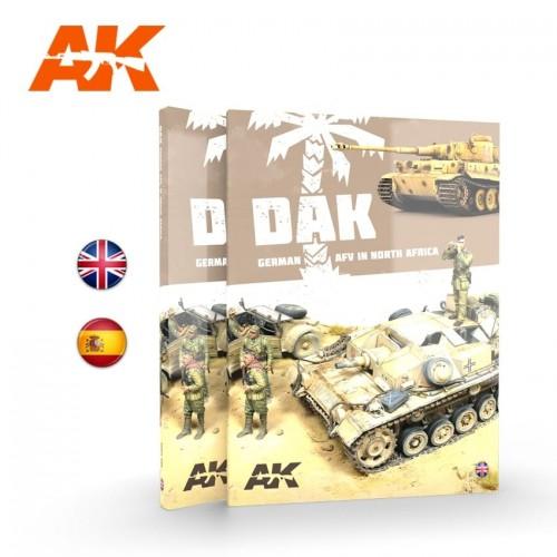 DAK VEHICULOS ALEMANES EN EL NORTE DE AFRICA (Castellano) - AK Interactive AK913