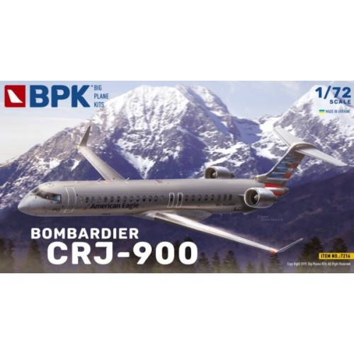 BOMBARDIER CRJ-900 -Escala 1/72- BIG PLANES KITS 7216