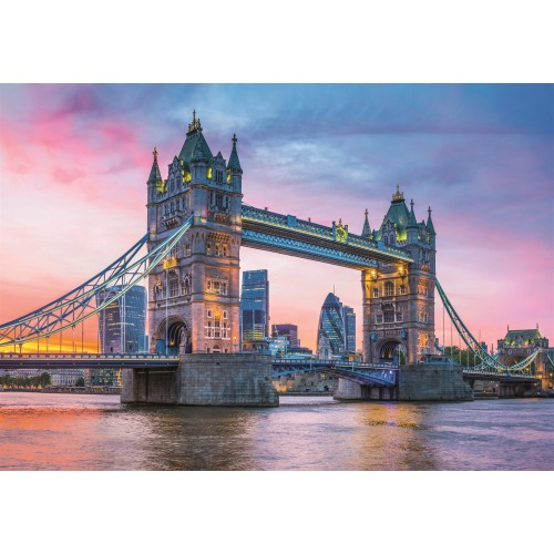 PUZZLE 1500 pzs TOWER BRIDGE SUNSET - Clementoni 31816