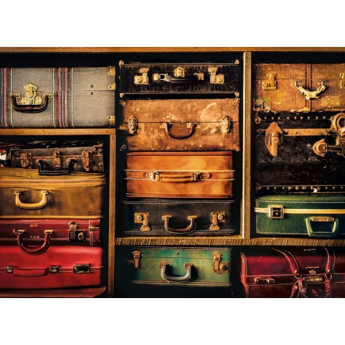 PUZZLE 1000 pzs TRAVEL (500 x 690 mm) - Clementoni 39423