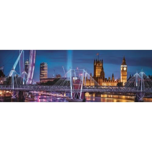 PUZZLE PANORAMA 1000 pzs LONDRES - Clementoni 39485