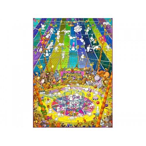 PUZZLE 1000 pzs THE SHOW, MODILLO (500 x 690 mm) - Clementoni 39536