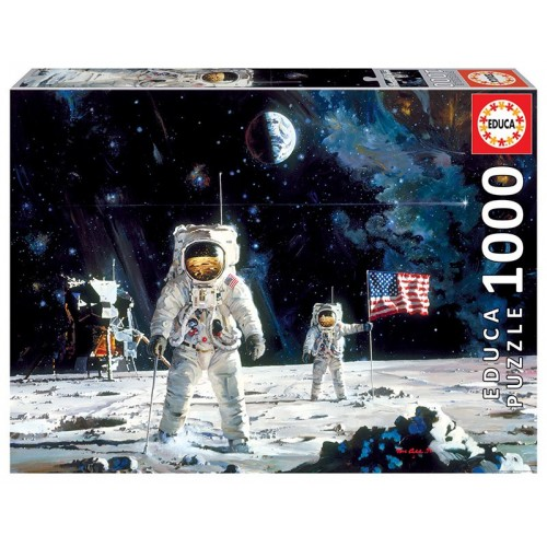 PUZZLE 1000 PZS FIRST MEN ON THE MOON - EDUCA 18459