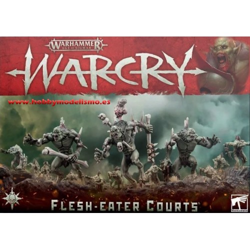 WARCRY FLESH EATERS COURTS - GAMES WORKSHOP 111-62