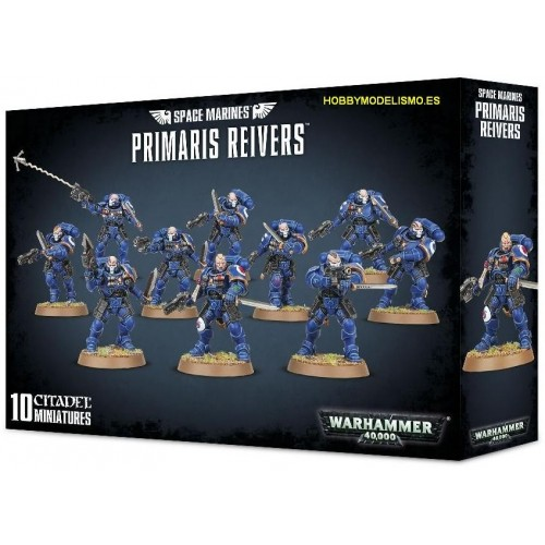 SPACE MARINES PRIMARIS REIVERS GAMES WORKSHOP 48-71