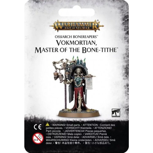 OSSIARCH BONEREAPERS: VOKMORTIAN, MASTER OF THE BONE-TITHE - Games Workshop 94-20