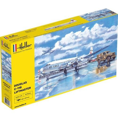 DOUGLAS C-118 LIFTMASTER -Escala 1/72- Heller 80317