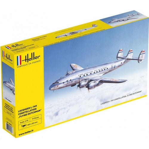 "LOCKHEED L-749 CONSTELLATION ""Flying Dutchman"" -Escala 1/72- Heller 80393"