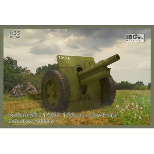 OBUS SKODA Wz. 14/19 (100 mm) -Escala 1/35- IBG 35060
