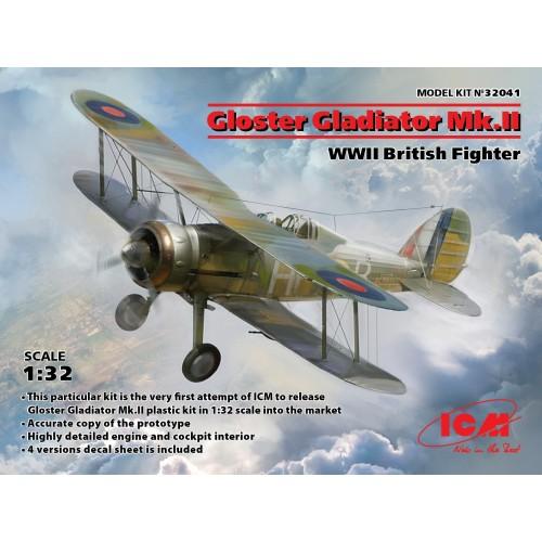 GLOSTER GLADIATOR MK-II -Escala 1/32- ICM 32041