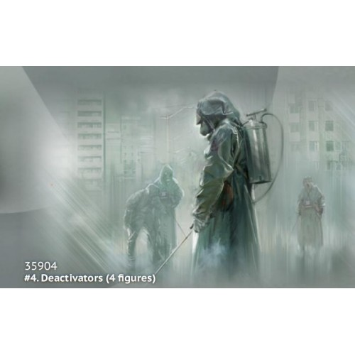 CHERNOBYL Nº4 DESACTIVADORES -1/35- ICM 35904