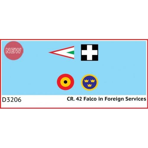 SET DE CALCAS FIAT Cr.42 FALCO -1/32- ICM D3206