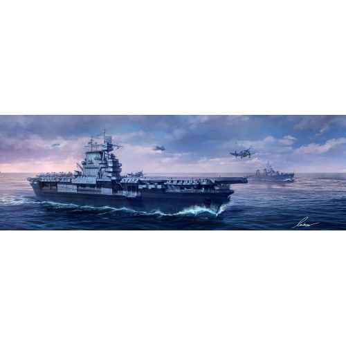 PORTAAVIONES U.S.S. ENTERPRISSE CV-6 -Escala 1/700- Meng Model PS-005