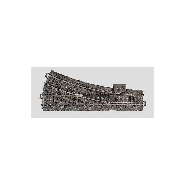 VIA C DESVIO MANUAL IZQUIERDO R2 (L: 188,30 mm) 24,30º