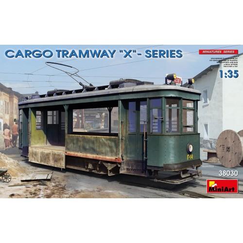 "TRANVIA SERIE X ""CARGA"" -Escala 1/35- MiniArt Models 38030"