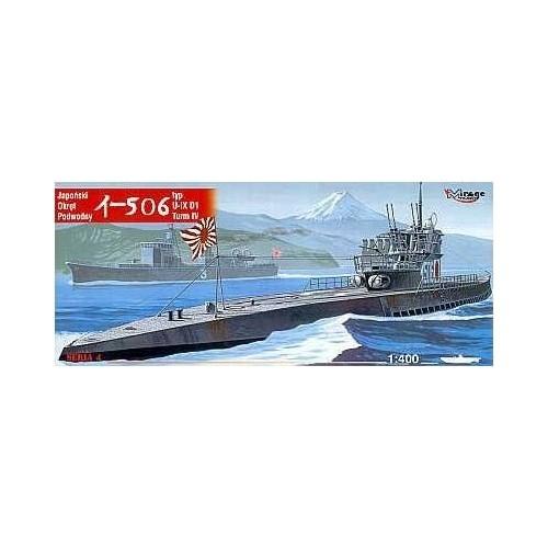 SUBMARINO Type IX D1 (I-506) JAPON -Escala 1/400 - MIRAGE 40046