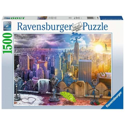 PUZZLE 1500 Pzas. ESTACIONES DE NUEVA YORK - Ravensburguer 16008
