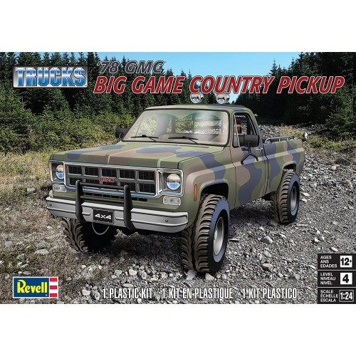 GMC COUNTRY PICKUP -Escala 1/24- Revell 17226