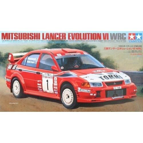 MITSUBISHI LANCER EVOLUTION VI WRC - ESCALA 1/24 - TAMIYA 24220