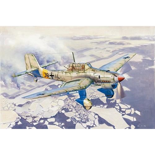 JUNKERS JU-87 B-2 /U4 STUKA -Escala 1/24- Trumpeter 02422