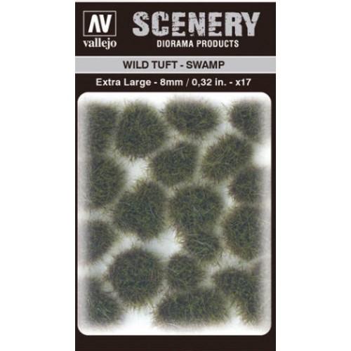 WILD TURF - SWAMP (L: 8 mm x 35 unidades) - Acrylicos Vallejo SC422