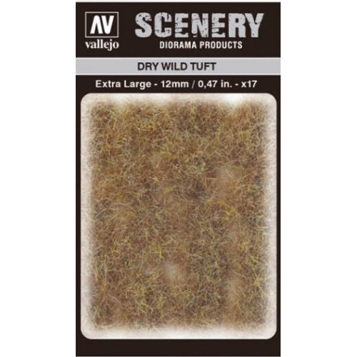 WILD TURF - DRY WILD TUFT (L: 12 mm x 35 unidades) - Acrylicos Vallejo SC425