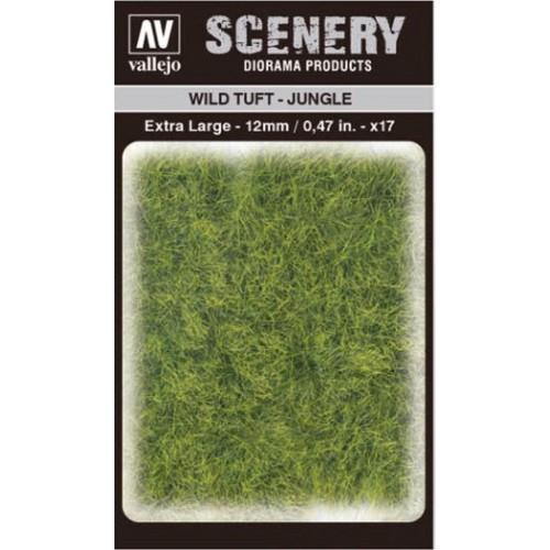 WILD TURF - JUNGLE (L: 12 mm x 35 unidades) - Acrylicos Vallejo SC428