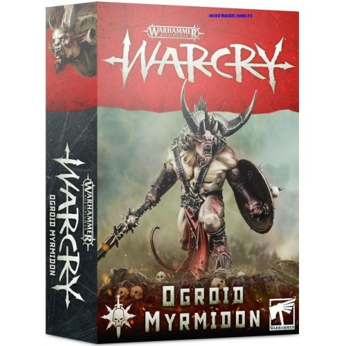 WARCRY OGROID MYRMIDON - GAMES WORKSHOP 111-25