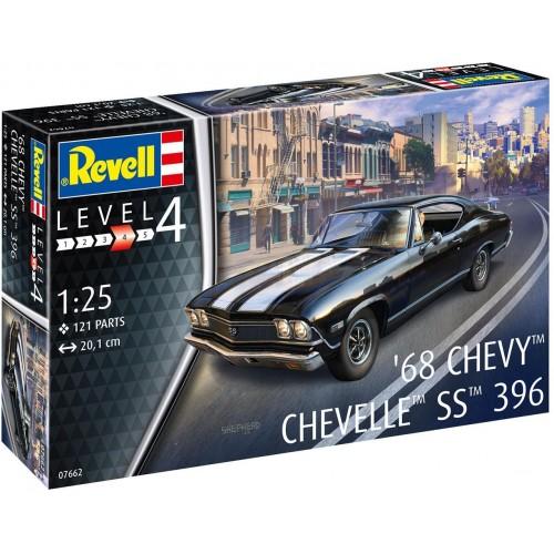 CHEVY CHEVELLE 1968 -Escala 1/25- Revell 07662