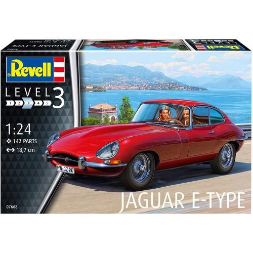 JAGUAR E-Type -Escala 1/24- Revell 07668