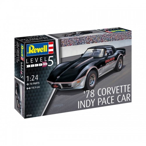 CHEVROLET CORVETTE INDY CAR 1978 -Escala 1/24- Revell 67646