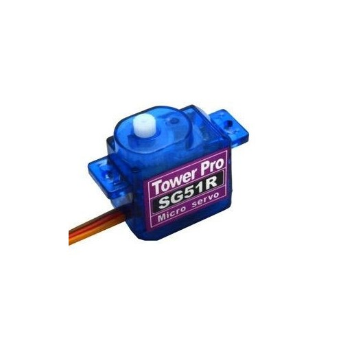 SERVO MINI DIGITAL 5GRMS - TORQUE 0.6KGS TOWER PRO