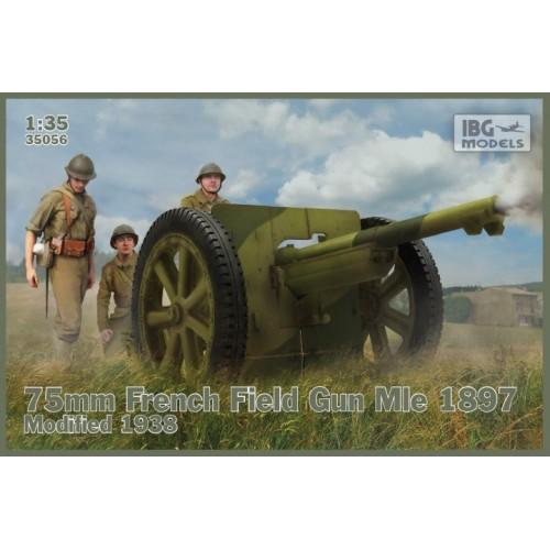 CAÑON Modl. 1897 (1938) 75 mm -Escala 1/35- IBG 35056