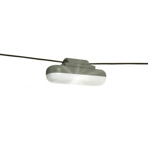 SOFITO COLGANTE CON LED - ESCALA H0 (1/87)