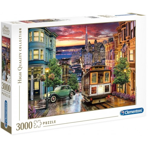 PUZZLE 3000 pzs SAN FRANCISCO - CLENTONI 33547