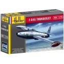 REPUBLIC F-84 G THUNDERJET -Escala 1/72- Heller 80278