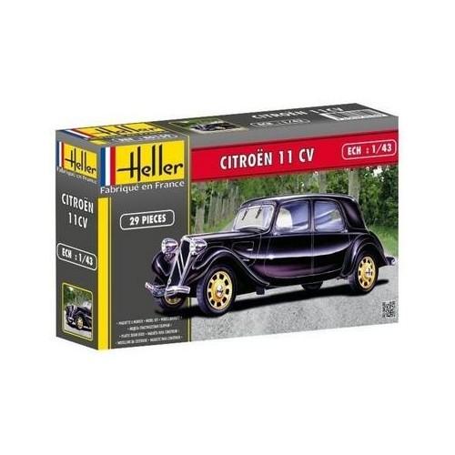 CITROEN 11CV -Escala 1/43- Heller 80159