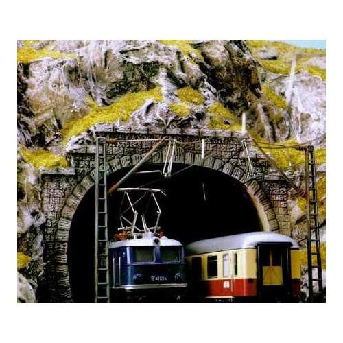 PORTAL TUNEL 2 VIAS N - Locomotora Electrica (2 unidades)