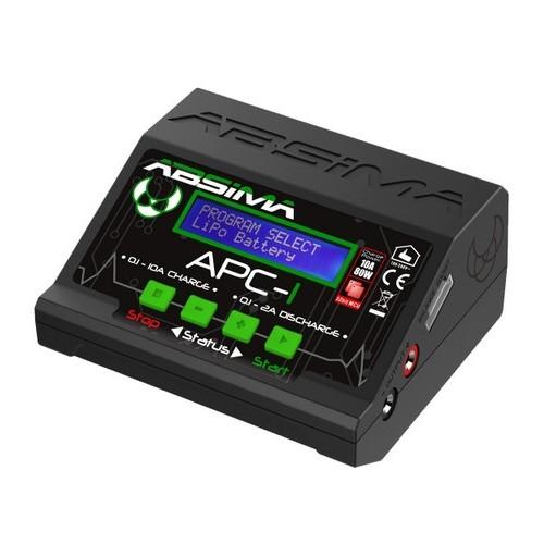 CARGADOR LIPO APC-1 1-6S 10A 80W - ABSIMA 4000013