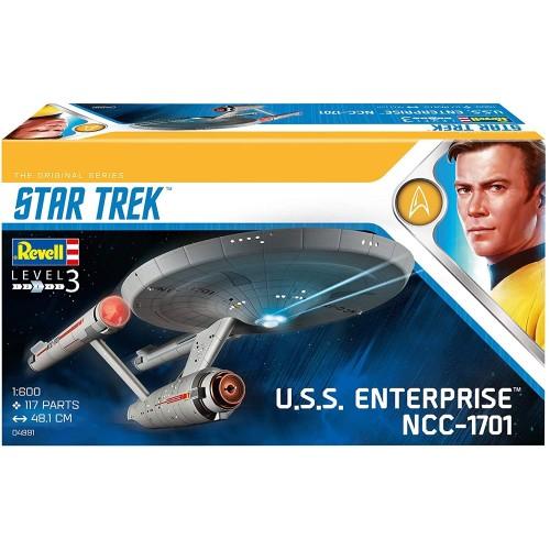 U.S.S. ENTERPRISE NCC-1701 (TOS) -Escala 1/600- Revell 04991